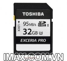Thẻ nhớ Toshiba EXCERIA SDHC 32GB 95/75MB/s UHS-I Class 10 U3