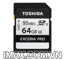 Thẻ nhớ Toshiba EXCERIA SDXC 64GB 95/75MB/s UHS-I Class 10 U3