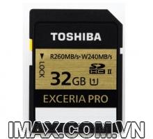 Thẻ nhớ Toshiba EXCERIA PRO 32 GB UHS-II