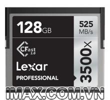 Thẻ nhớ CFast Lexar 3500X 525MB/s 128GB