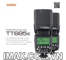 Flash Godox TT685C for Canon - Hàng nhập khẩu