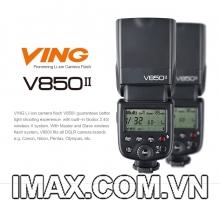 FLASH GODOX VING 850II  GN58 HSS FOR CANON/NIKON/PENTAX/SONY...- HÀNG NHẬP KHẨU