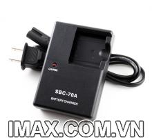 Sạc pin máy ảnh Samsung SBC-70A cho pin Samsung BP-70A, sạc dây
