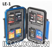Hộp đựng thẻ nhớ Backpacker LE-1 đựng 4CF, 8SD