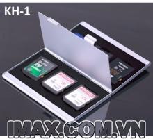 Hộp đựng thẻ nhớ KH-1 đựng 6SD, 2 ngăn