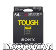 Thẻ nhớ Sony SDXC 64GB SF-G series TOUGH UHS-II V90 U3 300MB/s
