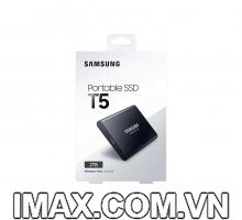 Ổ Cứng di động gắn ngoài Samsung Portable SSD T5 2TB 3.1 Gen 2 10Gbps