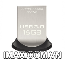 USB 3.0 Sandisk CZ43 Ultra Fit 16GB, 130MB/s, No box