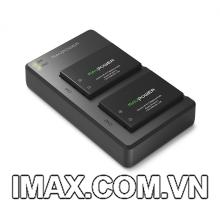 Bộ 2 pin 1 sạc Ravpower RP-BC013 cho Canon LP-E17