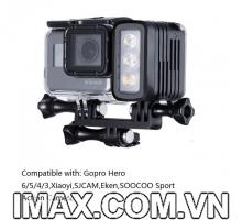 Đèn chiếu sáng không thấm nước dùng cho tất cả Camera Gopro