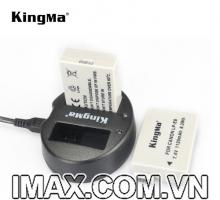 Sạc đôi Kingma cho pin Canon LP-E8