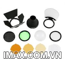 Bộ phụ kiện Godox AK-R1 cho đầu đèn flash tròn H200R, V1