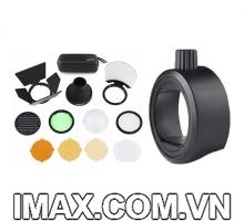 Bộ tản sáng Godox AK-R1 và ngàm Godox S-R1