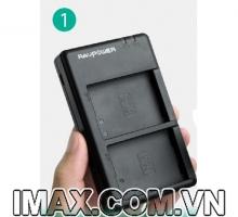 1 Sạc kép  máy quay Sony NP-F550 Ravpower RP-BC006, 2 pin 2900mAh