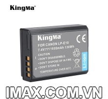 PIN MÁY ẢNH KINGMA FOR CANON LP-E10