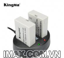 2PIN 1 SẠC  Kingma cho pin Canon LP-E8