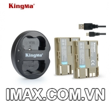 2 PIN 1 SẠC KINGMA CHO PIN CANON BP-511