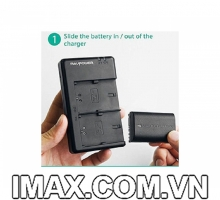 1 Pin  1 Sạc Ravpower RP-BC003 cho Canon LP-E6, LP-E6N,