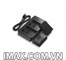 2 Pin và 1 Sạc máy ảnh RAVPower RP-BC014 tương thích Canon LP-E10