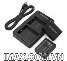 Bộ 2pin và 1 sạc Fujifilm NP-W126S Ravpower RP-BC023