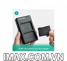 1 Pin 1 Sạc máy ảnh Sony NP-FZ100 Ravpower BC018