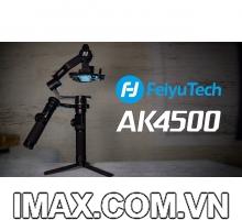 Thiết bị chống rung cầm tay Feiyu AK4500 - Gimbal cho máy ảnh, máy quay - Chính Hãng