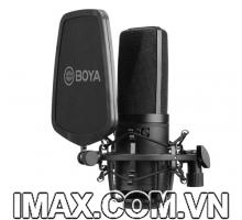 Micro thu âm BOYA BY-M1000 trong phòng thu