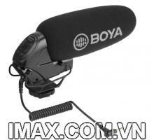 Micro thu âm Shotgun BOYA BY-BM3032 cho máy ảnh, máy quay, ghi âm