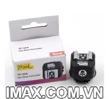 Đế chuyển đổi đèn chớp dùng cho máy ảnh Sony Pixel TF-334