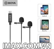 Mic thu âm Boya BY-M3D, cổng Type C