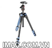 Chân máy ảnh Manfrotto Befree Alu, Màu Xanh Dương