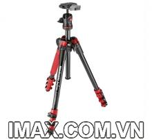 Chân máy ảnh Manfrotto Befree Alu, Màu Đỏ
