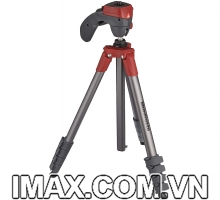 Chân máy ảnh Manfrotto Compact Action (Màu Đỏ)