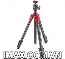 Chân máy ảnh Manfrotto Compact Light Red