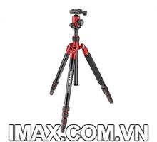 Chân máy ảnh Manfrotto Element Traveller Small (màu đỏ)