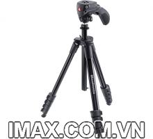 Chân máy ảnh Manfrotto Compact Action (Màu Đen)