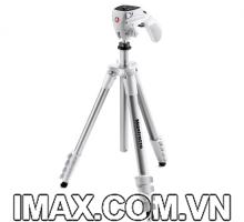 Chân máy ảnh Manfrotto Compact Action (Màu Trắng)