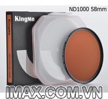 Kính lọc Kingma Pro MC ND1000 58mm, Giảm 10 Stop