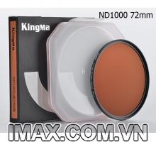 Kính lọc Kingma Pro MC ND1000 72mm, Giảm 10 Stop