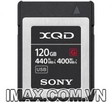 Thẻ nhớ XQD Sony 440/400 MB/s Dòng G 120GB
