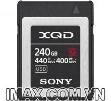 Thẻ nhớ XQD Sony 440/400 MB/s Dòng G 240GB: