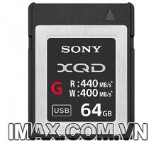 Thẻ nhớ XQD Sony 440/400 MB/s Dòng G 64GB