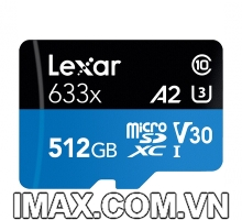Thẻ nhớ 512GB Micro SDXC Lexar 633x 95MB/s