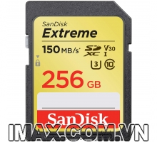 Thẻ nhớ Sandisk SDXC Extreme 256GB 150/70MB/s