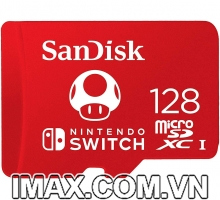 Thẻ nhớ Sandisk Micro SDXC 128GB Nintendo Switch cho máy chơi Game