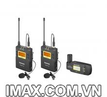 Micro không dây Saramonic UWMIC9 Kit 8 (TX9+TX9+ RX-XLR9)