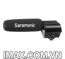 Micro thu âm đa năng Saramonic Vmic Recorder Condenser hỗ trợ ghi âm độc lập trên thẻ nhớ