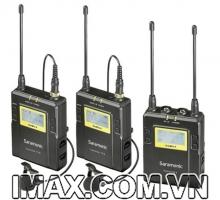 Mic thu âm Saramonic UWMIC9 Kit 2 không dây wireles thế hệ mới
