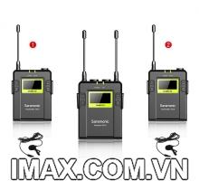 Mic thu âm Lavalier UWMIC10 Saramonic ghi âm máy quay không dây