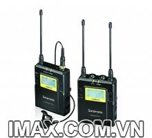 Bộ mic lavalier thu âm không dây Saramonic UWMIC10